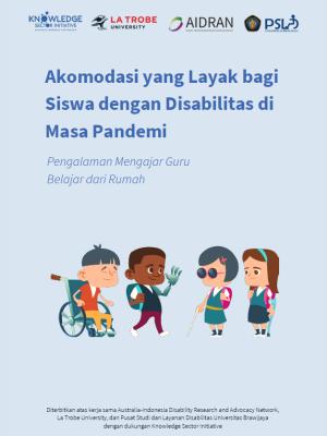 Akomodasi yang Layak bagi Siswa dengan Disabilitas di Masa Pandemi: Pengalaman Mengajar Guru Belajar dari Rumah