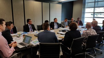 Visit of Minister Prof Bambang Brodjonegoro and delegation to ANU for two roundtable discussions: a) focusing on Science, Technology, Engineering, Mathematics and Medicine (STEMM) and b) on the role of think