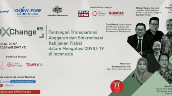Transparansi Anggaran dan Sinkronisasi Kebijakan Fiskal Untuk Atasi COVID-19