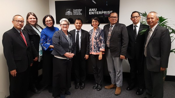 Opportunities for research collaboration between Indonesia and Australia: GoI visit to Canberra