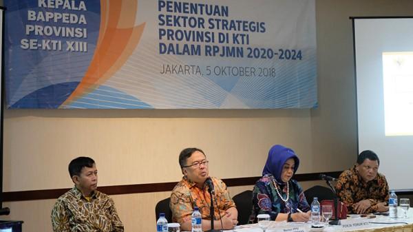 Forum Kepala Bappeda Provinsi Se-Kawasan Timur Indonesia (KTI) XIII