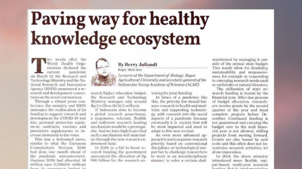 Paving Way for Healthy Knowledge Ecosystem