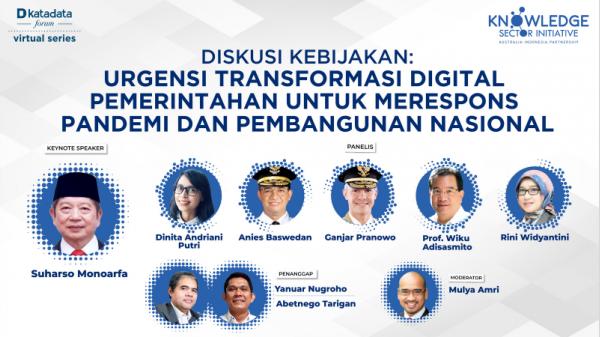 Tranformasi Digital Dorong Kebijakan Berbasis Bukti