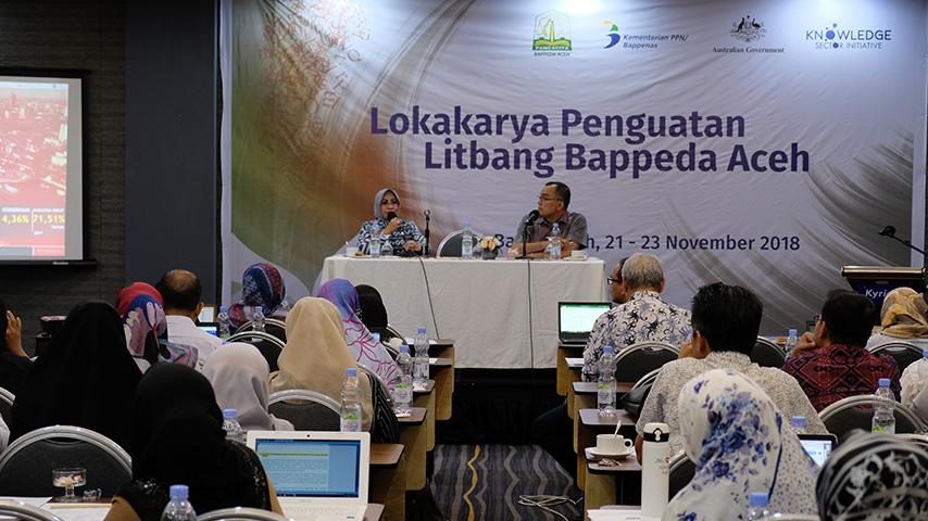 Pemprov Aceh Gandeng KSI Tingkatkan Kualitas Litbang