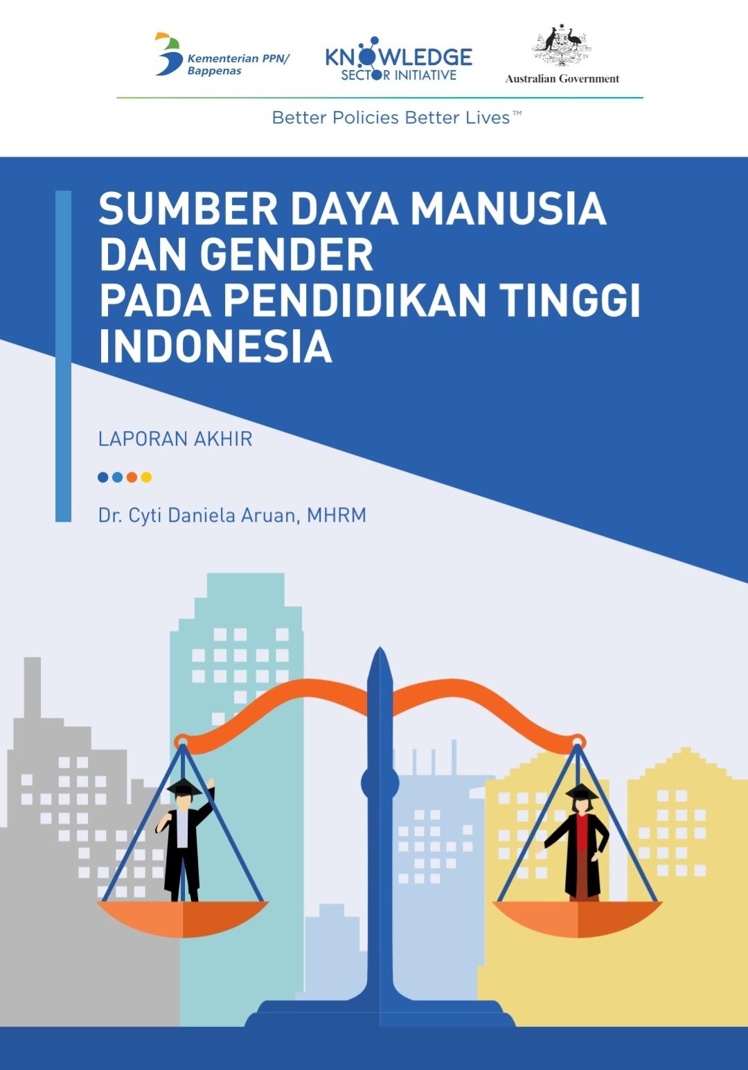 Sumber Daya Manusia dan Gender Pada Pendidikan Tinggi Indonesia