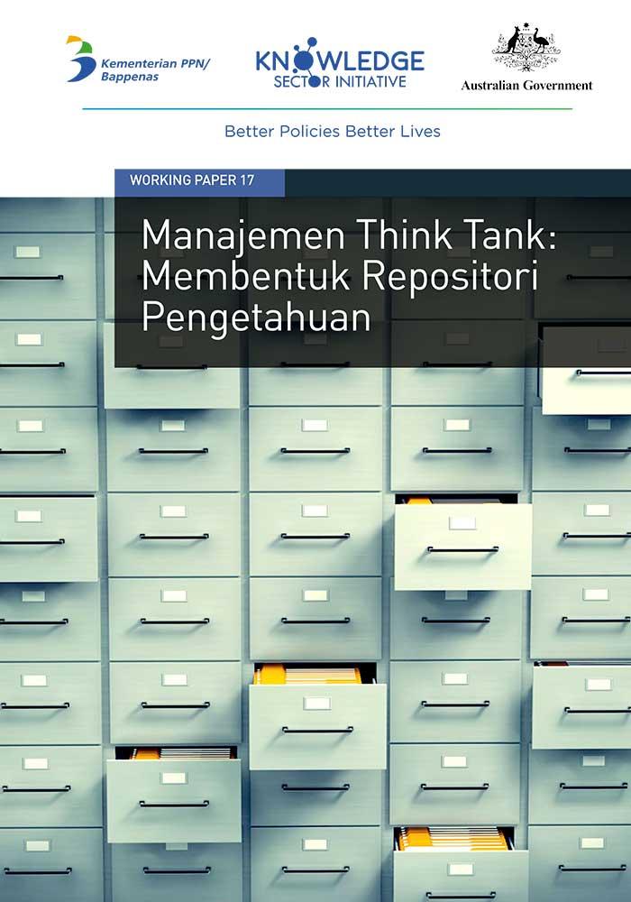 Working Paper -</br>Manajemen Think Tank: Membentuk Repositori Pengetahuan