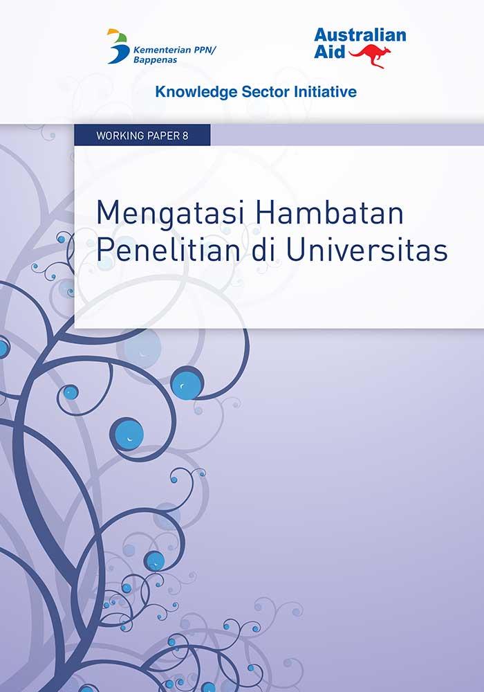 Working Paper -</br>Mengatasi Hambatan Penelitian di Universitas