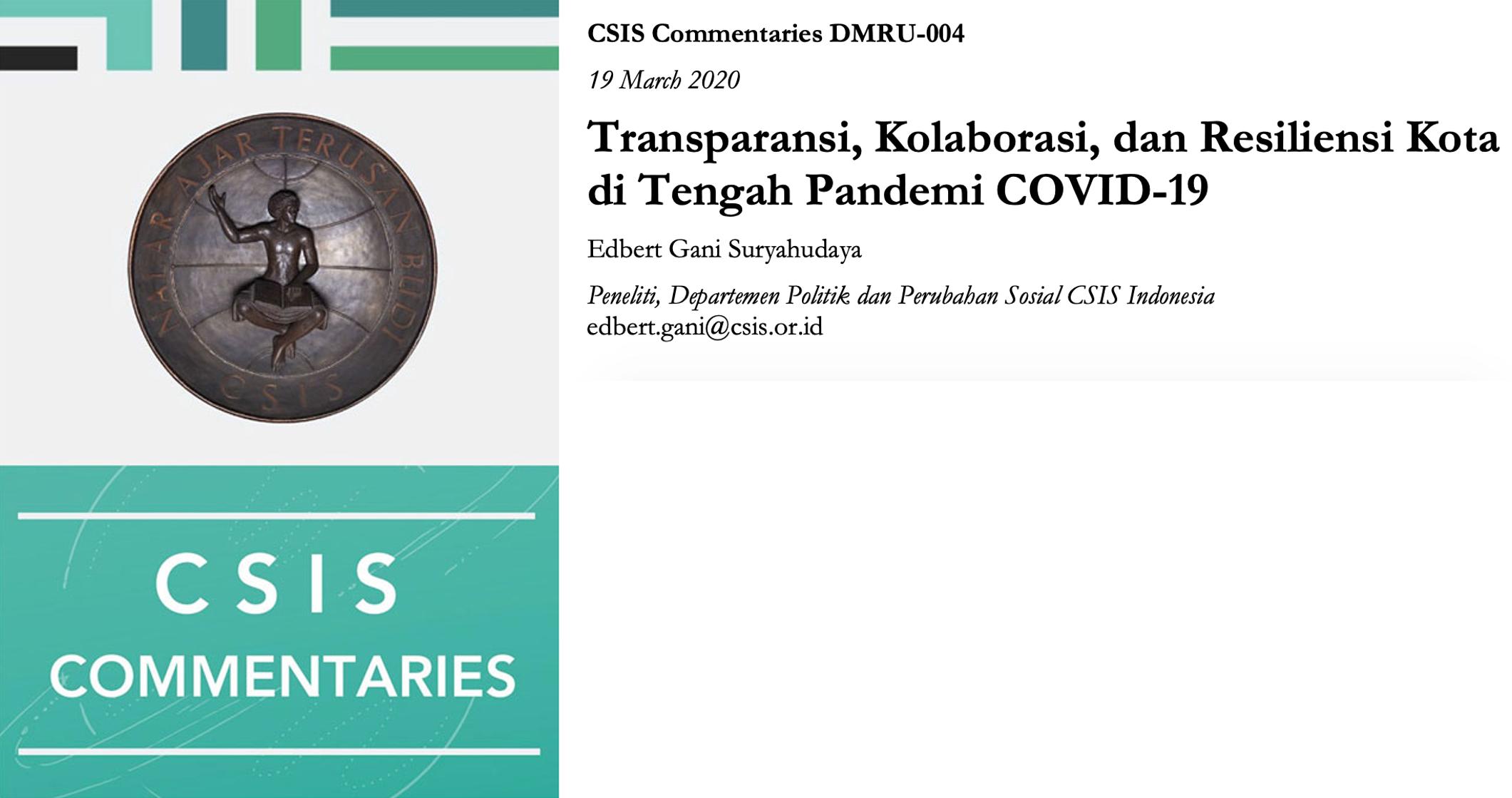 Mengukur Dampak COVID-19 pada Pertumbuhan Ekonomi dan Perdagangan Indonesia 2020