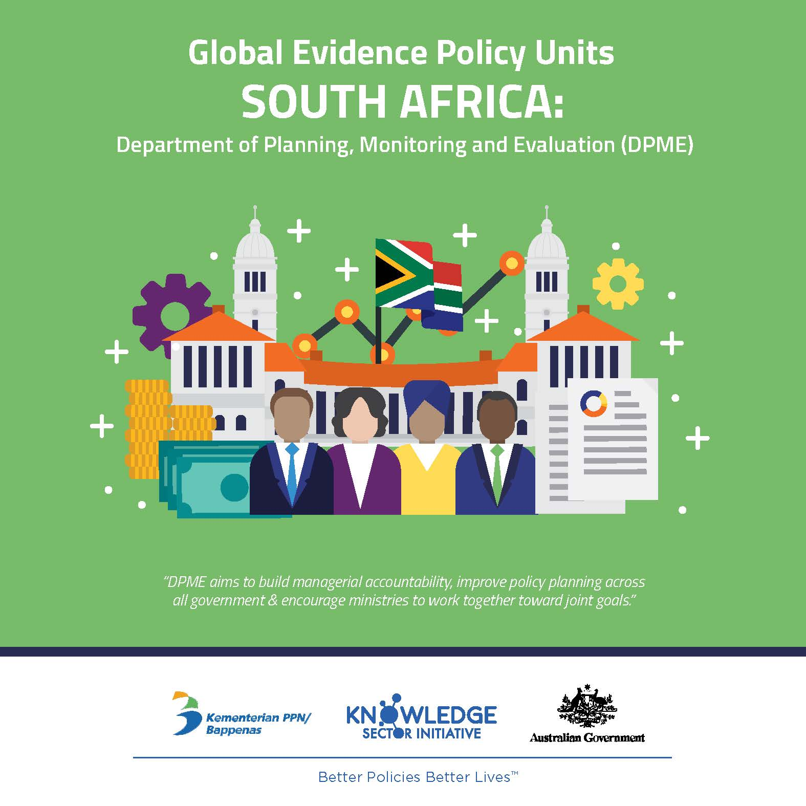Evidence Policy Unit in South Africa: the Department for Planning, Monitoring and Evaluation (DPME)