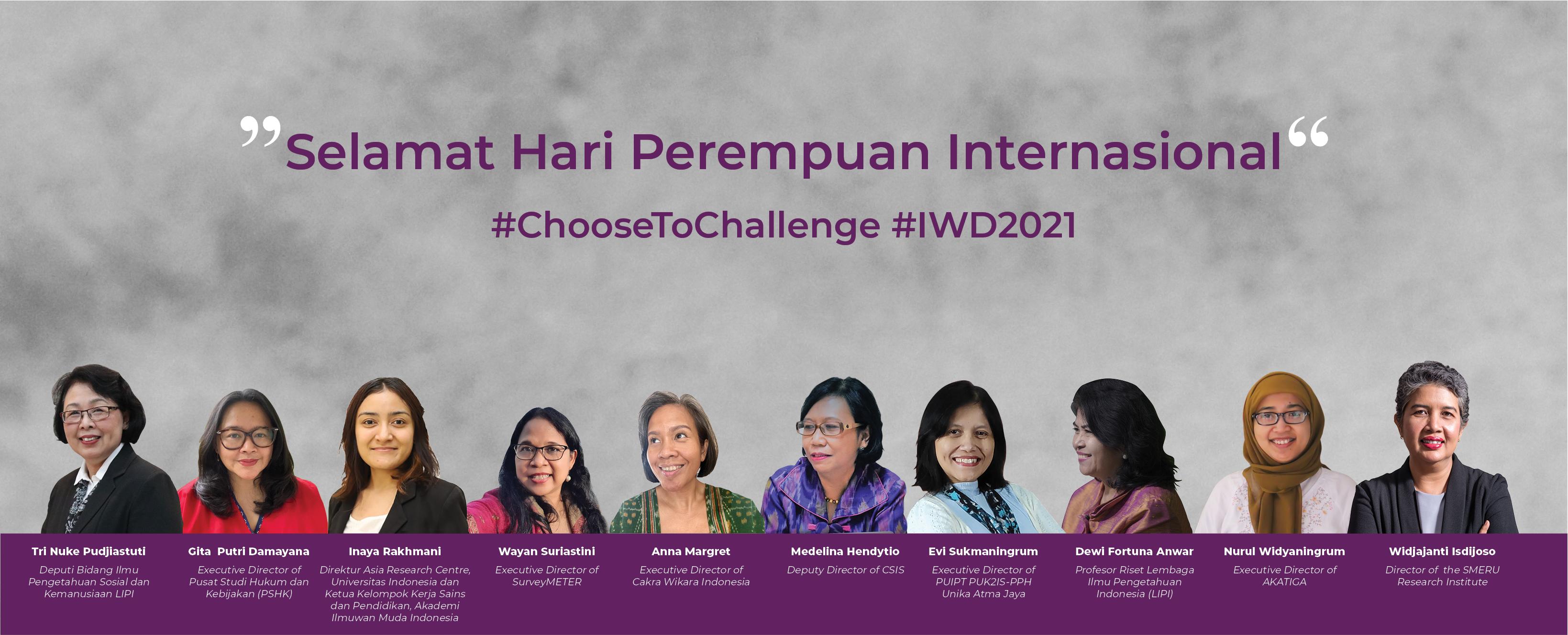 Selamat Hari Perempuan Internasional 2021
