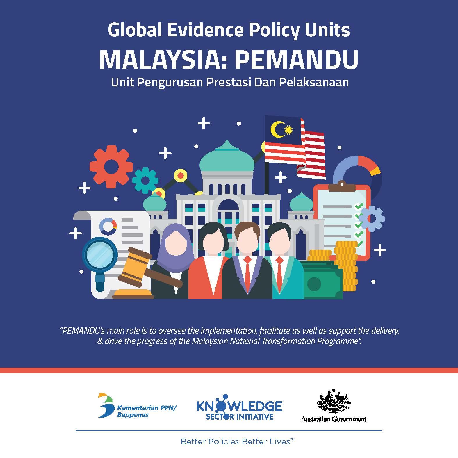 Evidence Policy Unit In Malaysia: PEMANDU